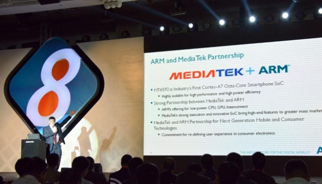 MediaTek представила первый в мире действительно восьмиъядерный процессор