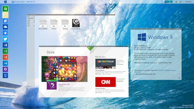 Windows 9: взгяд на новую ОС глазами дизайнеров