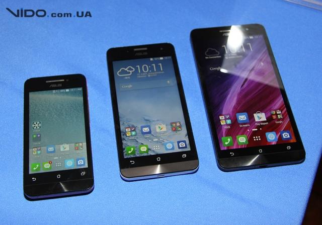 В Украине представлены смартфоны ASUS Zenfone и обновленные трансформеры Transformer Book