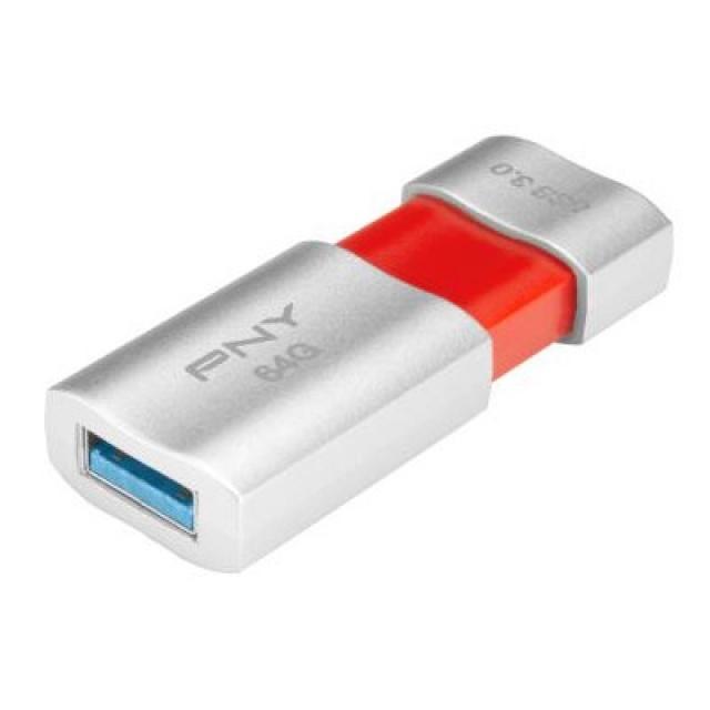 PNY представила флешку Wave USB 3.0 со спрятанным портом