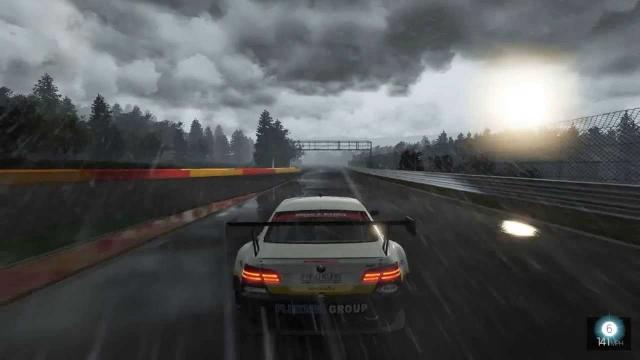 Геймплейное видео Project Cars демонстрирует эффект сильного дождя
