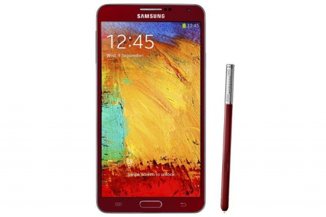 Красный Galaxy Note 3