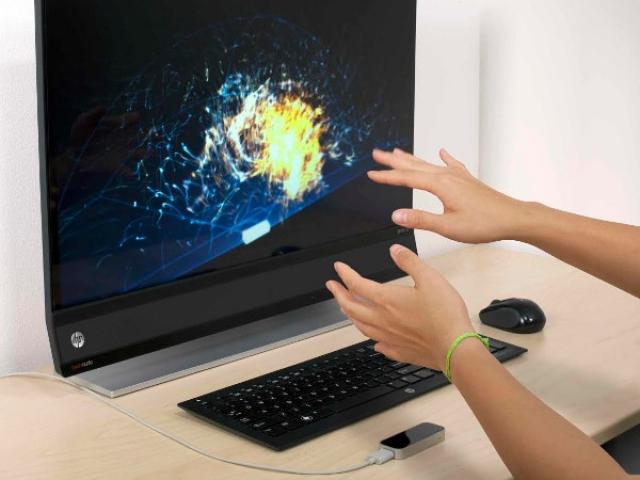 HP оснастила 11 ПК датчиками движения от Leap Motion