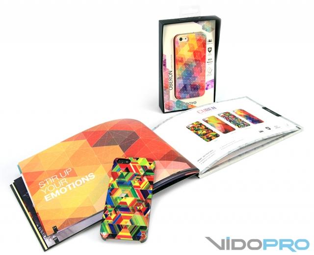 Чехлы ODOYO Cuben Collection и Mozaic Collection 5/5S: развивай свое творческое мышление