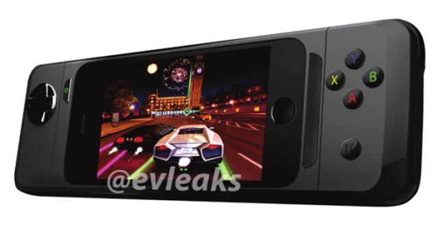 Пресс-рендер нового игрового конроллера для iOS 7