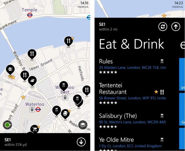Вышло обновление Nokia Maps