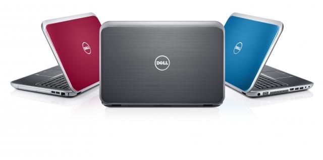 Новые ультрабук и ноутбуки Dell Inspiron в Украине