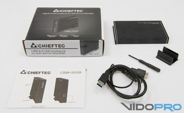 Собственное хранилище CHIEFTEC CEB-7025S и CEB-7035S