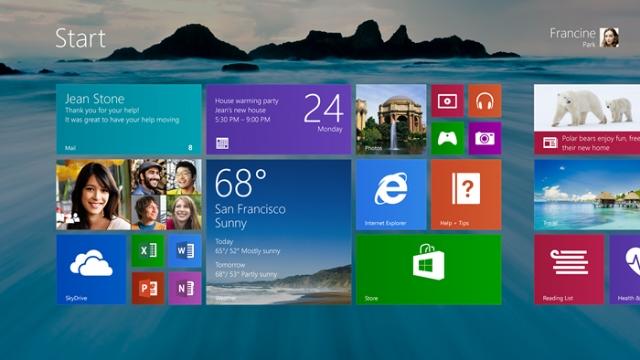 Windows Threshold выпустит приложения Metro на рабочий стол