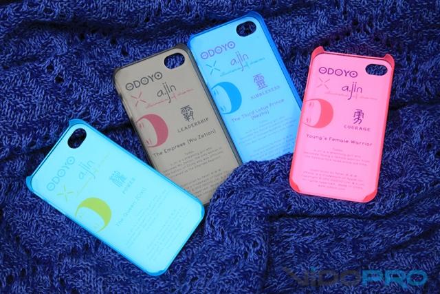 Чехлы ODOYO X A.Jin iPhone 4/4S: звезды Востока