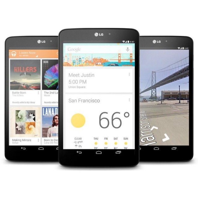 Официально представлен LG G Pad 8.3 Google Play Edition