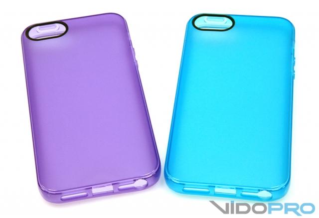 Чехлы ODOYO SlimEdge, SoftEdge и VIVID PLUS: яркие бамперы для iPhone 5 и 5S