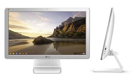 LG презентовала первый в мире моноблок на Chrome OS