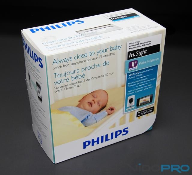 Беспроводная радионяня Philips In.Sight B120/10: ребенок под контролем