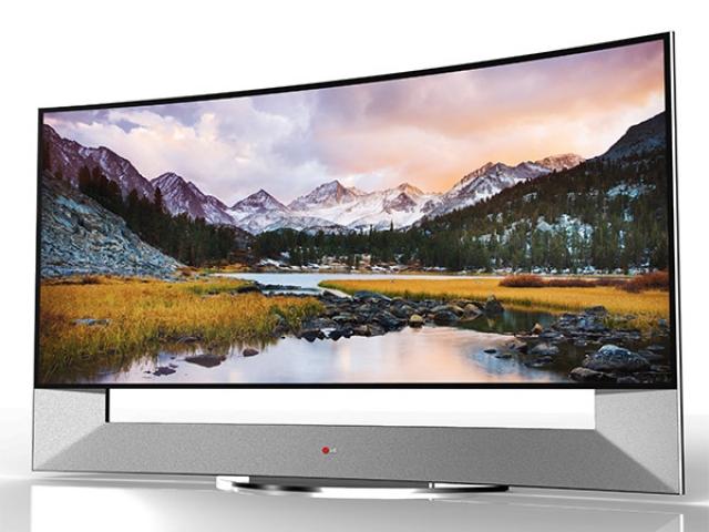 """LG представит 105"""" изогнутый UHD-телевизор на CES-2014"""