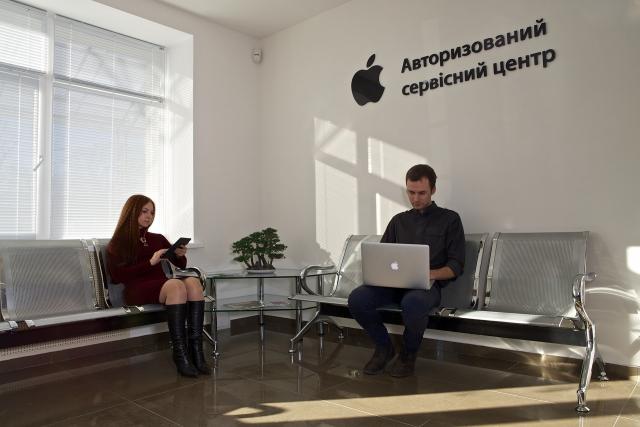 В Киеве открыт крупнейший авторизованный сервисный центр Apple