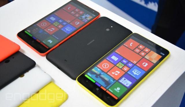Nokia Lumia 1320 начала продаваться раньше срока