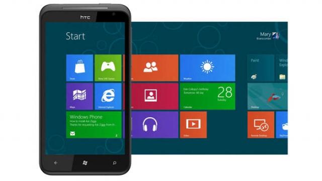 На новых НТС - новая Windows Phone 8