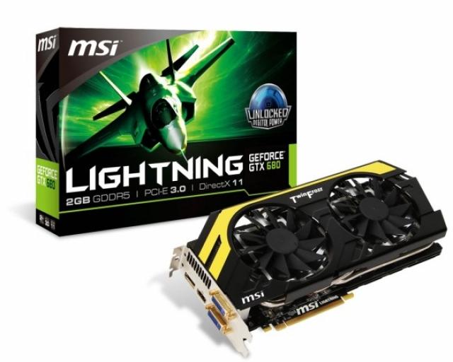 MSI раскрывает N680GTX Lightning