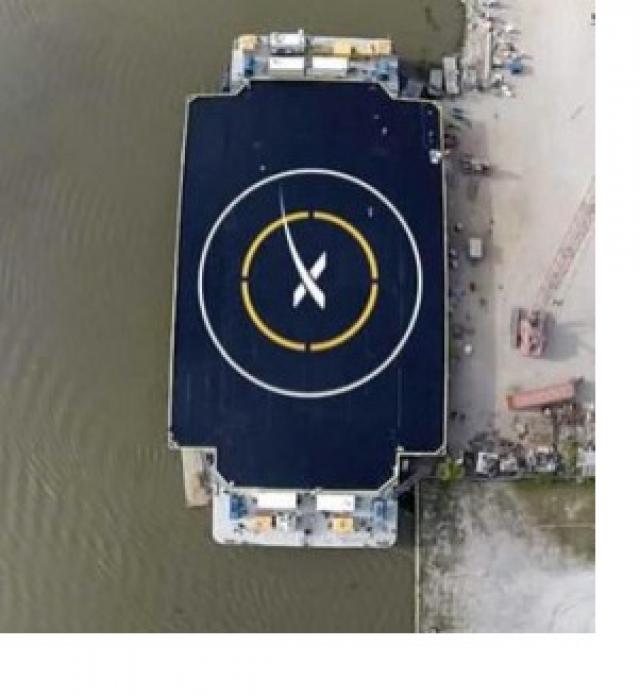 SpaceX планирует использовать автономные космодромы для посадки ракет