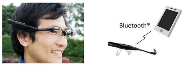Olympus подражает Google Glass с прототипом носимого дисплея