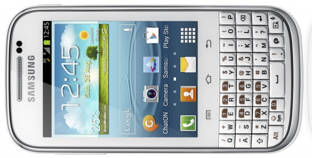 Новый Samsung GALAXY Chat – идеальный для общения