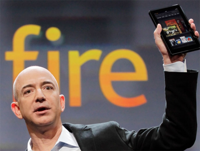 Этой осенью появятся как минимум три планшета от Amazon