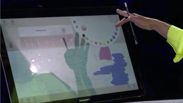 Суперновинки на Windows 8 анонсированные сегодня на Microsoft WPC, Lenovo