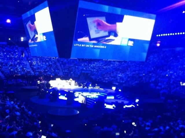 Microsoft WPC, репортаж с места события, день первый – открытие