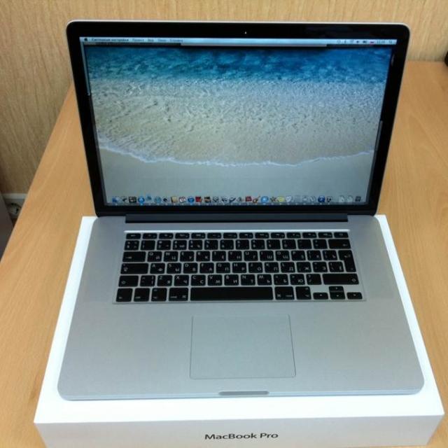 Apple MacBook Pro 15' Retina - официально уже в Украине!