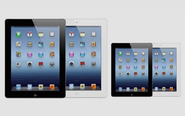 В конце года ожидается новый планшет от Apple с небольшим экраном
