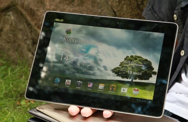 Презентация новых ультрабуков Zenbook и планшетов Transformer Pad от ASUS