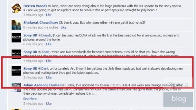 В Sony отказались от идеи Jelly Bean для телефонов Xperia