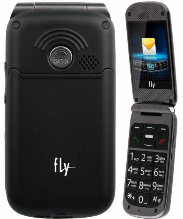Fly Ezzy Flip - телефон-раскладушка с большими клавишами за 649 грн