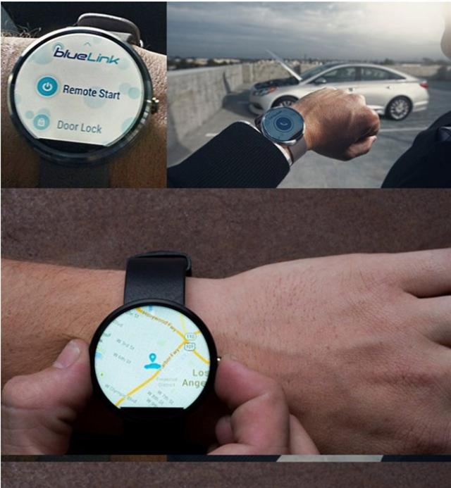 Hyundai позволит владельцам контролировать свои автомобили с помощью умных часов