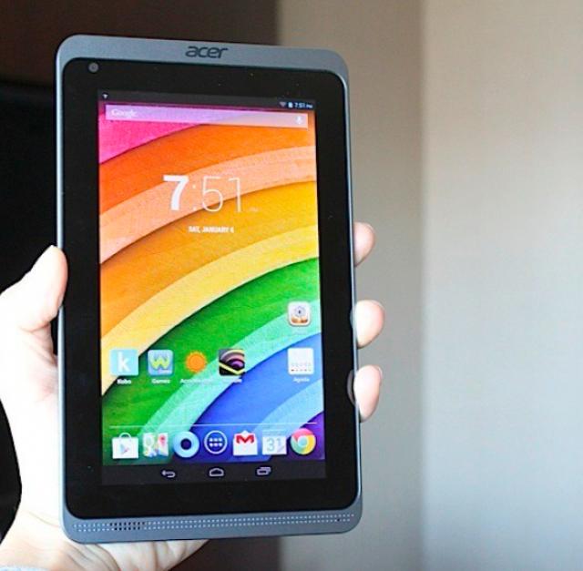 CES 2014: Acer представила новые Android-планшеты Iconia