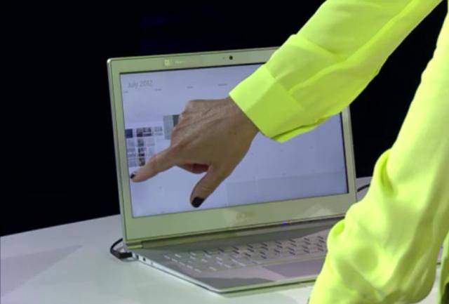 Более 40 моделей ультрабуков с сенсорным экраном – уже в этом году