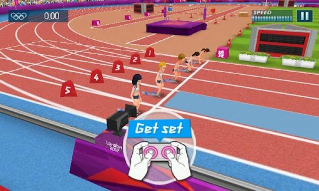 Олимпийское приложение Samsung: Take Part 2012
