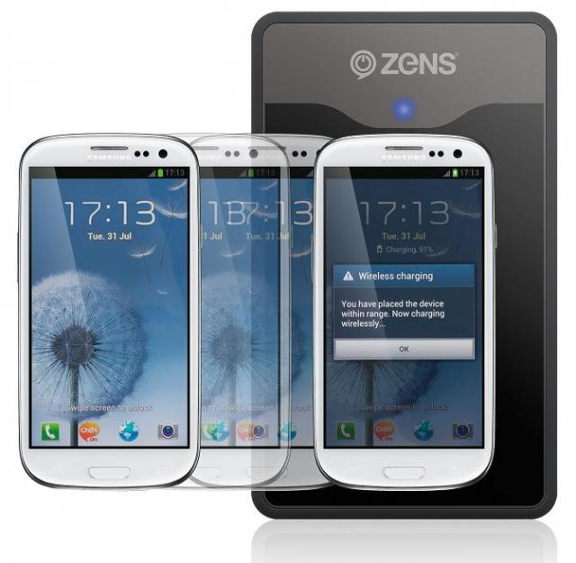 Представлено беспроводное зарядное устройство для Galaxy S III