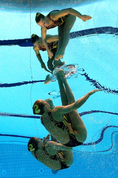 Олимпийский заплыв – подводная камера, рассылающая твитты