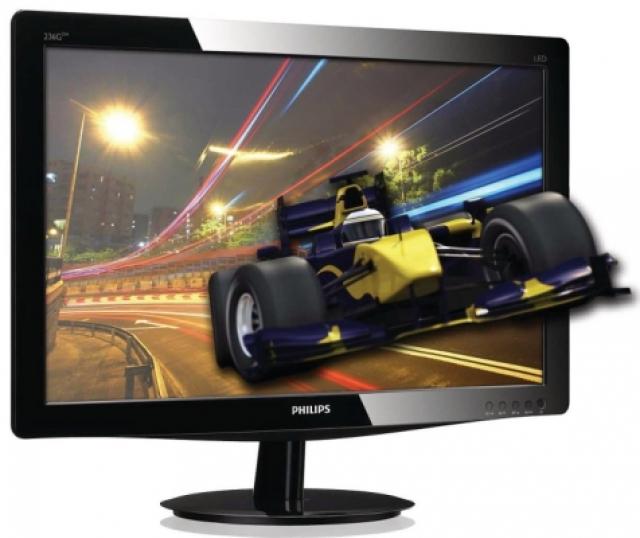 Philips представляет Full HD 3D LED 236G монитор