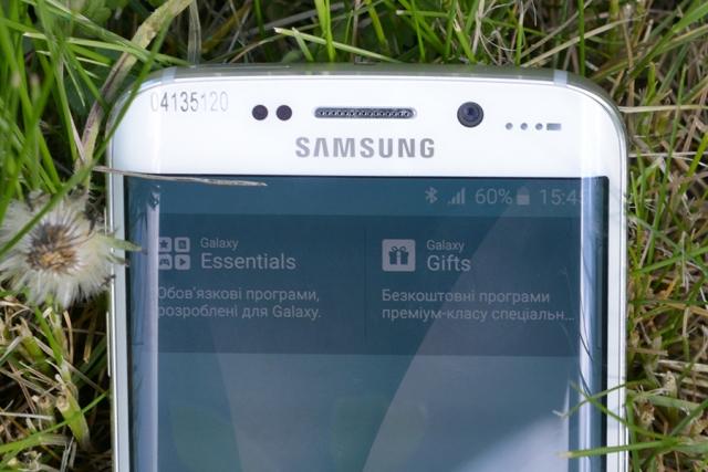 Обзор смартфона Samsung Galaxy S6 Edge. День первый: впечатления