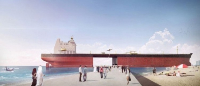 Архитекторы предлагают переделать старые танкеры в жилые площади