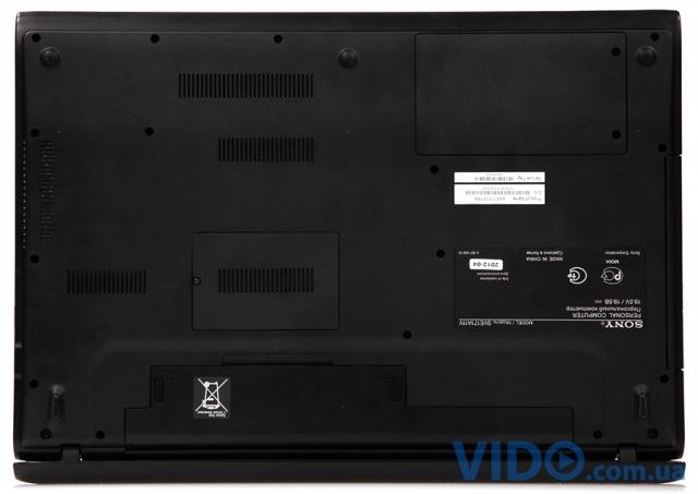 Sony VAIO SVE1711Z1RB: мультимедийный ноутбук