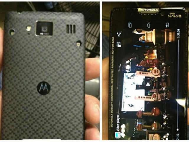 Конкуренты iPhone 5 от Motorola сбежали в сеть