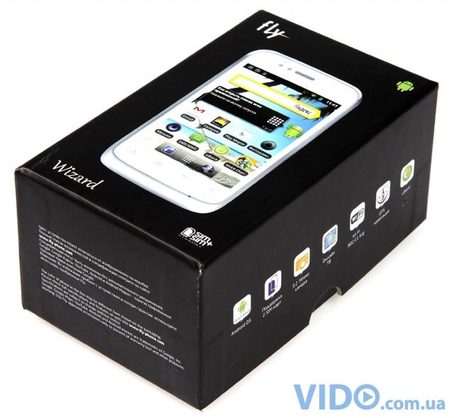 Fly IQ245 Wizard: скандально доступный Android-смартфон, который может работать с двумя SIM-картами