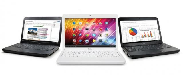 Android - ноутбуки от Ergo Electronics