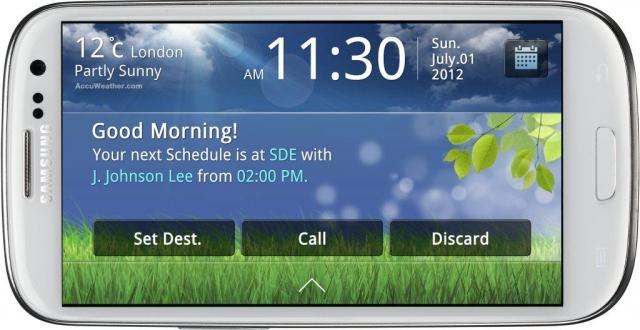 Приложение Samsung Drive Link – специально для водителей