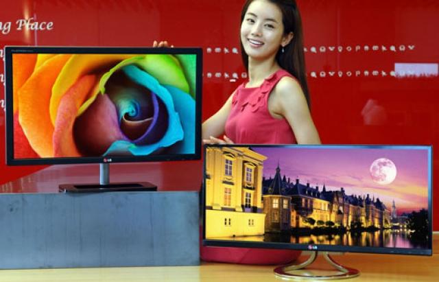 LG на IFA 2012 – два новых монитора с IPS-матрицей
