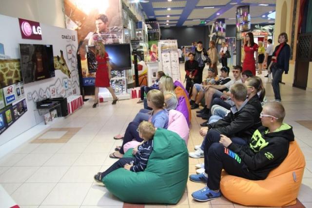 LG развлекала детей детского дома «Любисток»